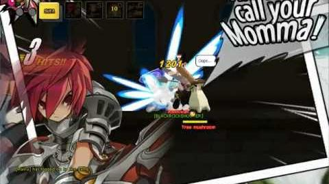 Elsword Skill Flame Geyser