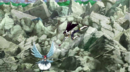 Kagura dives in to attack Erza.png