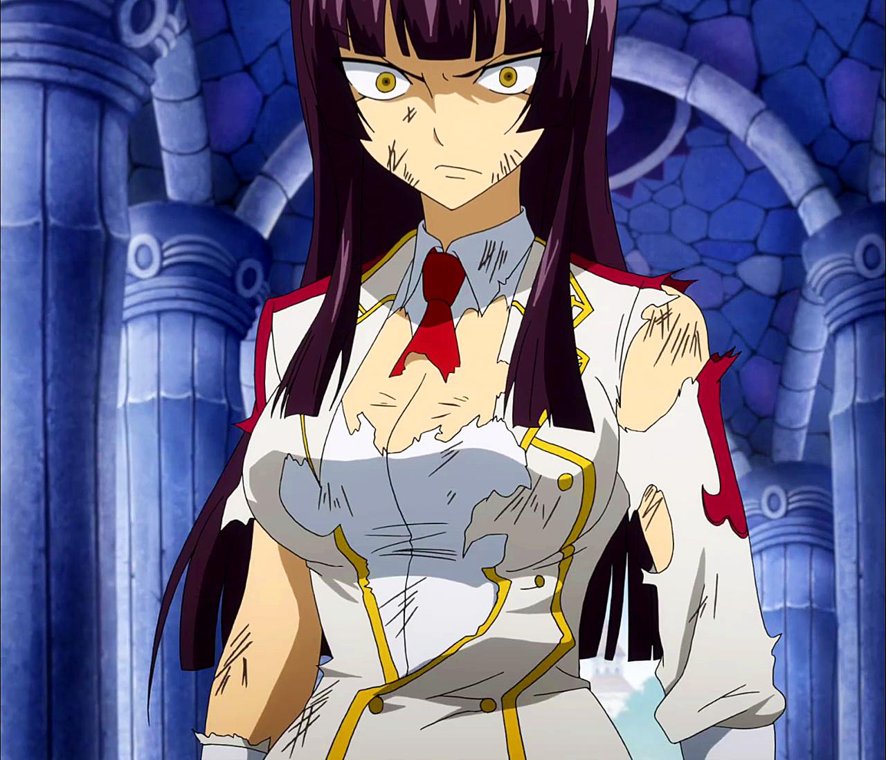 Erza Scarlet vs. Kagura Mikazuchi - Fairy Tail Wiki, the ... |Kagura Fairy Tail