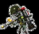 Zombie Piechur