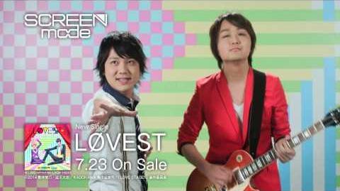 SCREEN mode「LφVEST」MV Short Ver