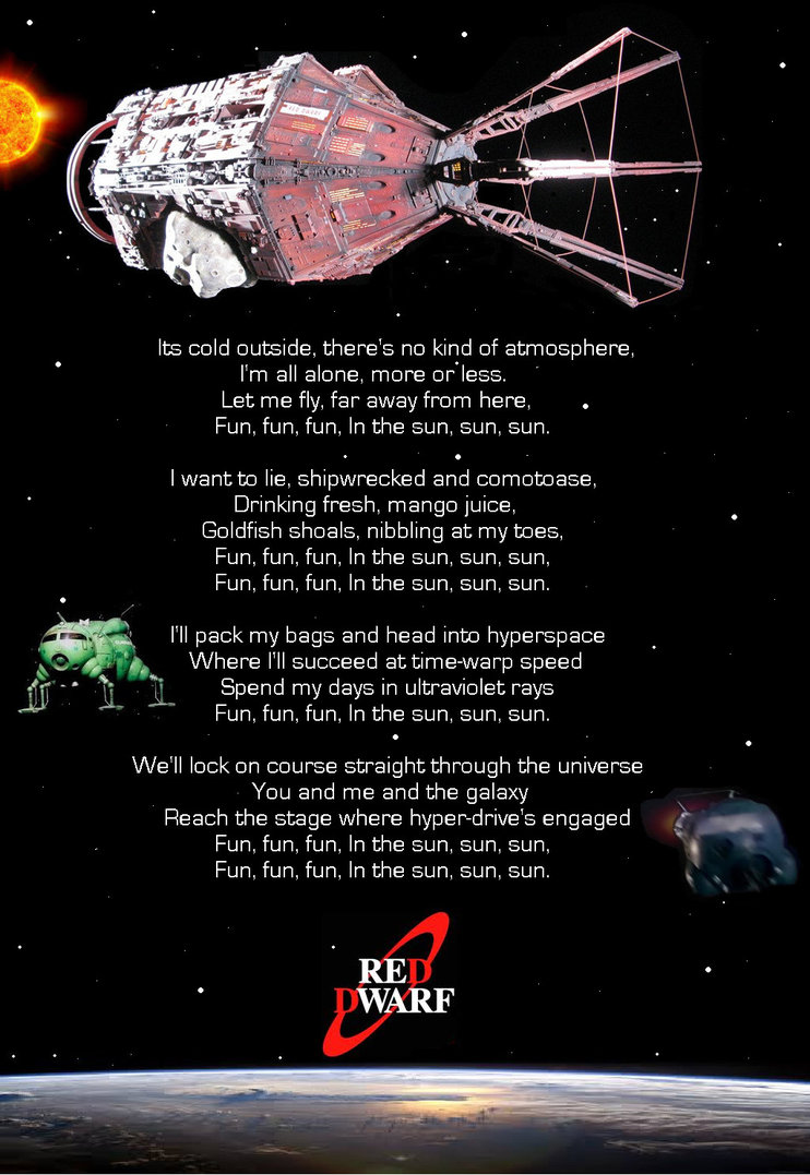 Red Dwarf Theme Song Lyrics - Lyrics On Demand