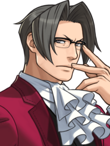 Miles Edgeworth Portrait