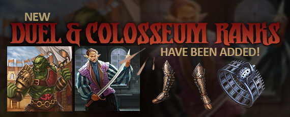 Scroller duel colosseum ranks