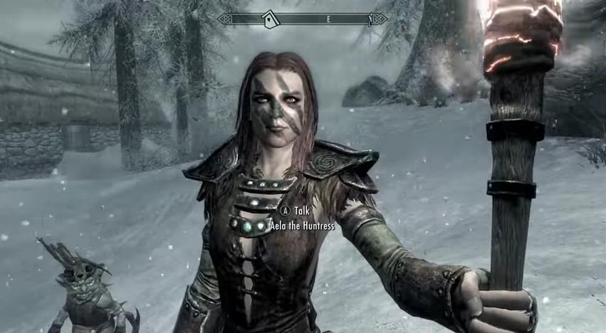 Aela the Huntress - Skyrim For Pimps Wiki