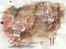 Concept Art - Godzilla Final Wars - Shobijin Cave Mural 1.png