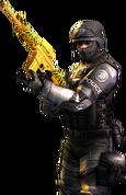 SWAT Gold-M4A1