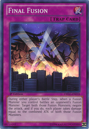 Final fusion yu gi oh it s time to duel