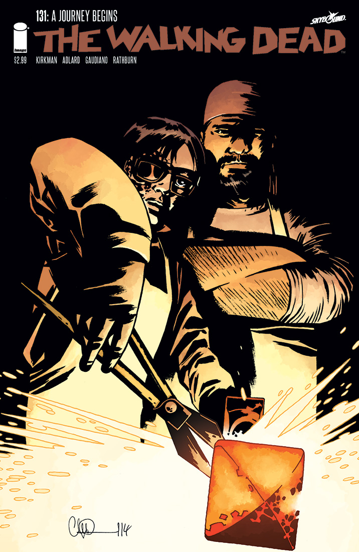 THE WALKING DEAD Issue 131 FR A new beginning (tome 22 5/6)