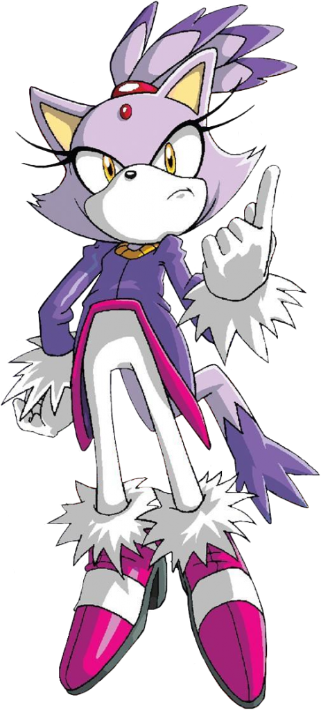 Blaze the Cat (Archie) - Sonic News Network, the Sonic Wiki