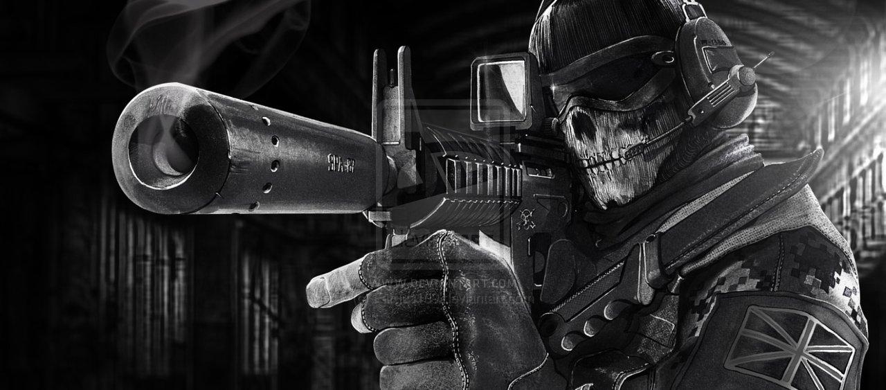 Ghost_call_of_duty_modern_warfare_art_by
