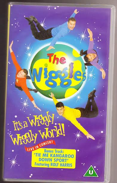 The Wiggles Wiggly Wiggly World DVDThe Wiggles Wiggly Wiggly World Vhs
