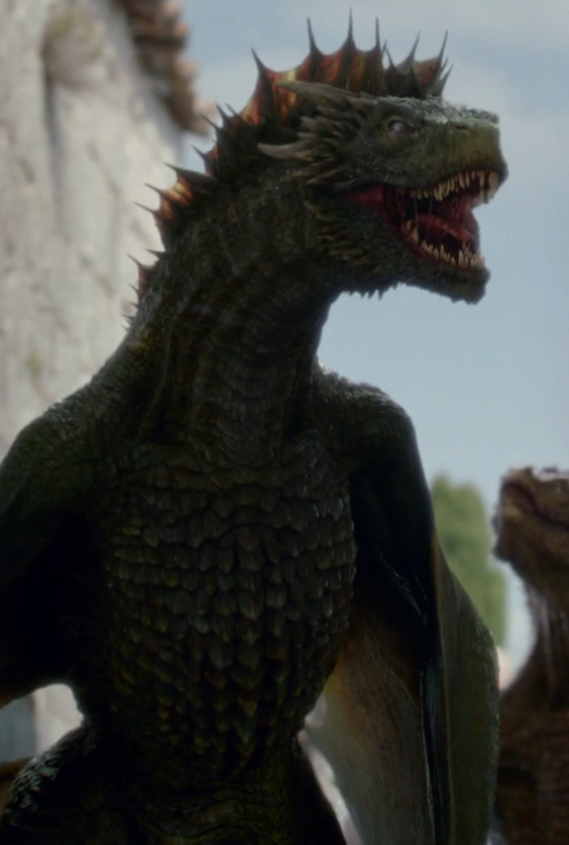 rhaegal game of thrones wiki