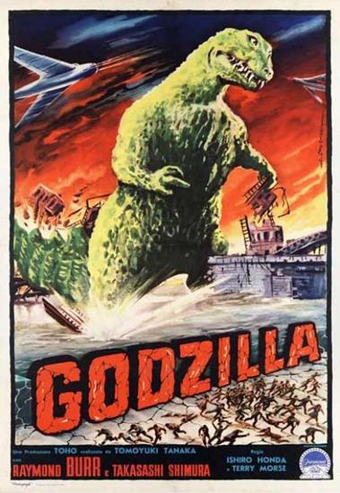Godzilla King Of The Monsters Poster Image - Godzilla King of the