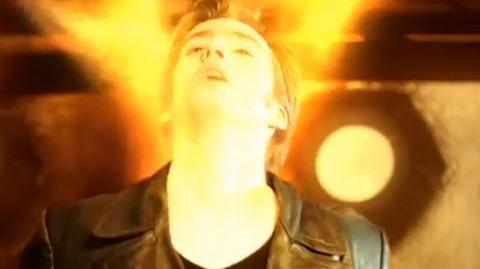 Ninth Doctor regenerates - Christoper Eccleston to David Tennant - Doctor Who - BBC