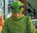 Frog alien