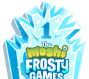 Frosty Games Ice Plaque