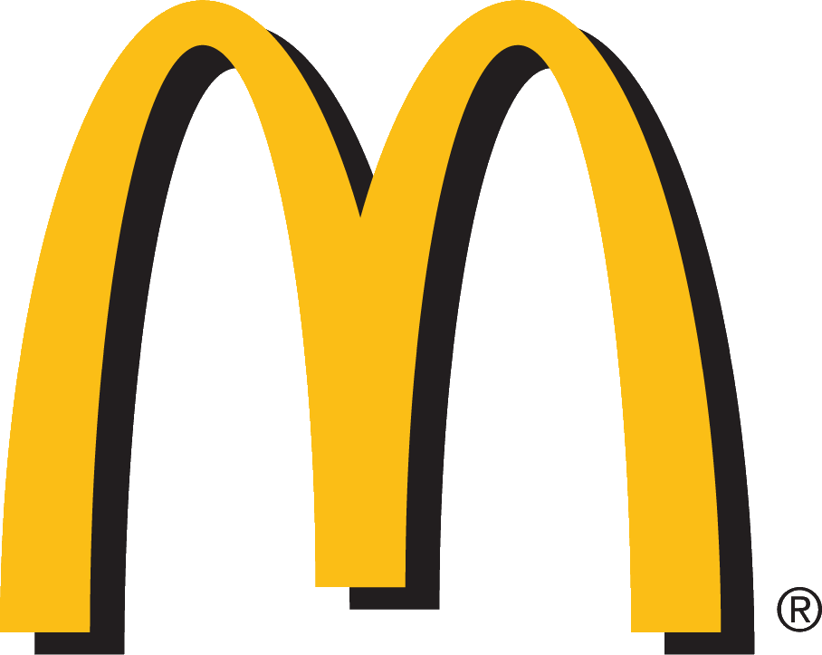 File:McDonald's shadowed logo with slogan.png