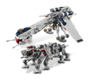 10195 Le Republic Dropship avec l'AT-OT Walker