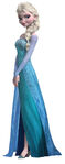 Elsa lifesize cardboard cutout buy Disney Frozen Cutouts at starstills 54086.1396694772.1280.1280