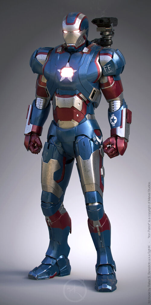 Iron Patriot Armor Iron Man 3 Iron Patriot Japan