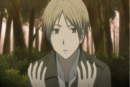 Natsume watching his hands.png