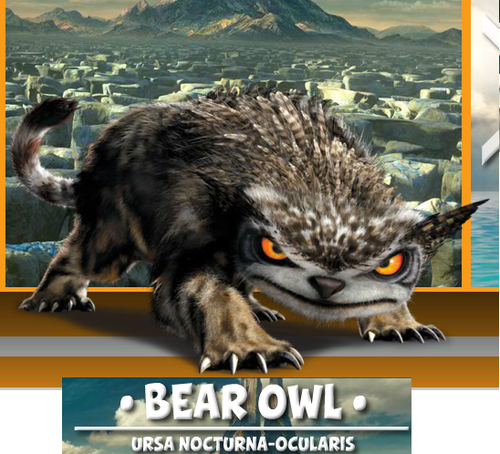 Image - Bear Owl Fact.png - The Croods Wiki