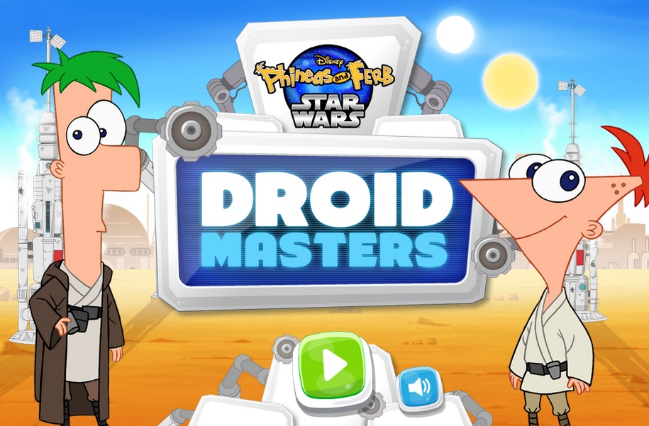 Phineas and Ferb Star Wars - Droid Masters - Phineas and ...
