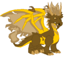 Dragón Fuego Terroso