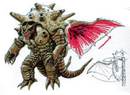 Concept Art - Mothra vs. Bagan - Bagan 15.png