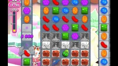 Candy Crush Saga Level 248 - 1 Star - no boosters