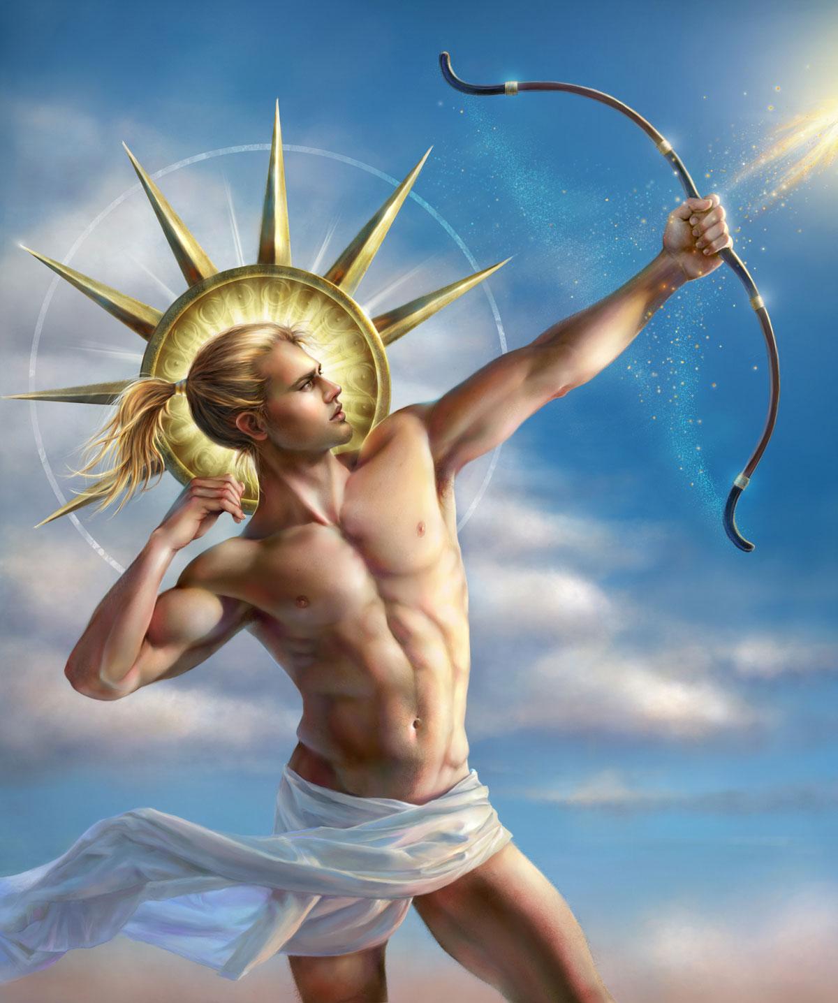 Image - Apollo Greek God Art 02.jpg - Camp Half-Blood Role ...