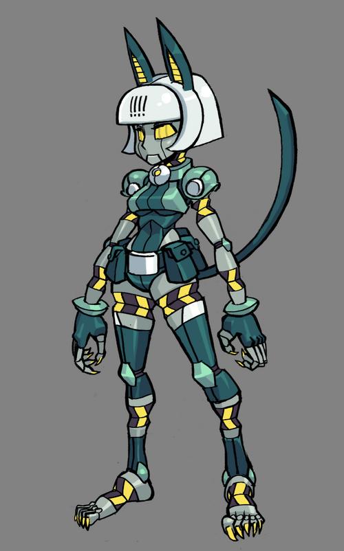robo fortune   skullgirls wiki   wikia