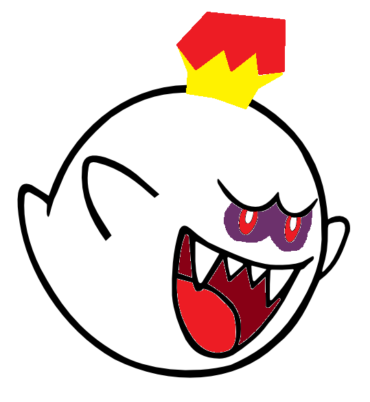 mario boo coloring pages - photo#29