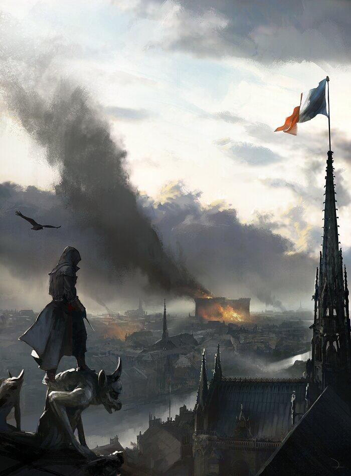 Image ac unity concept the assassin 39 s creed - Bureau change bastille ...