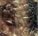 200px-Heracles, Iolaus and Eros - Cista Ficoroni foot.jpg