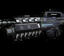 Gauss Assault Rifle M2 Grenade Launcher
