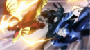 Représentation des Dragons Slayers détruisant le Droma Anim.png