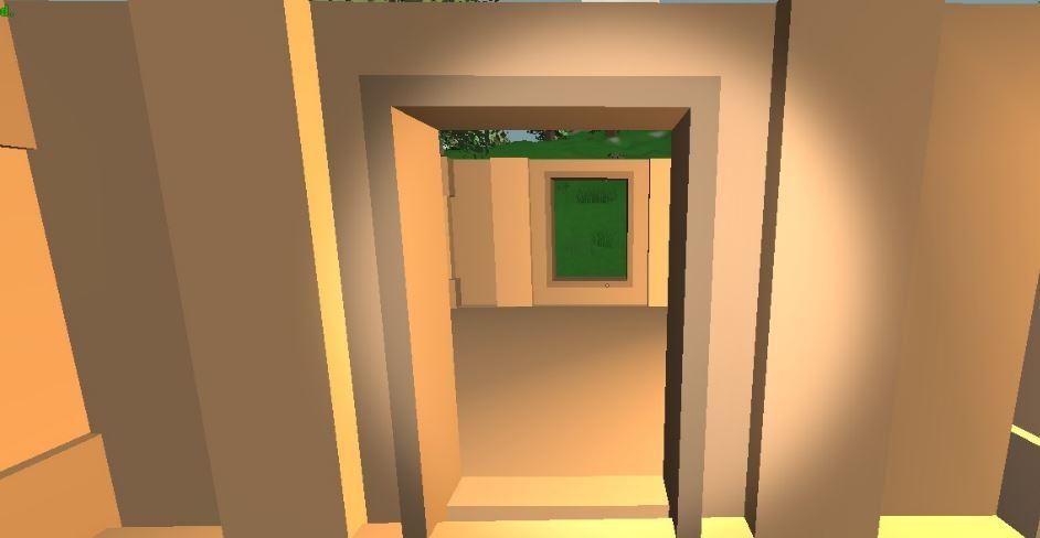 Doorway wood unturned bunker wiki for Door unturned