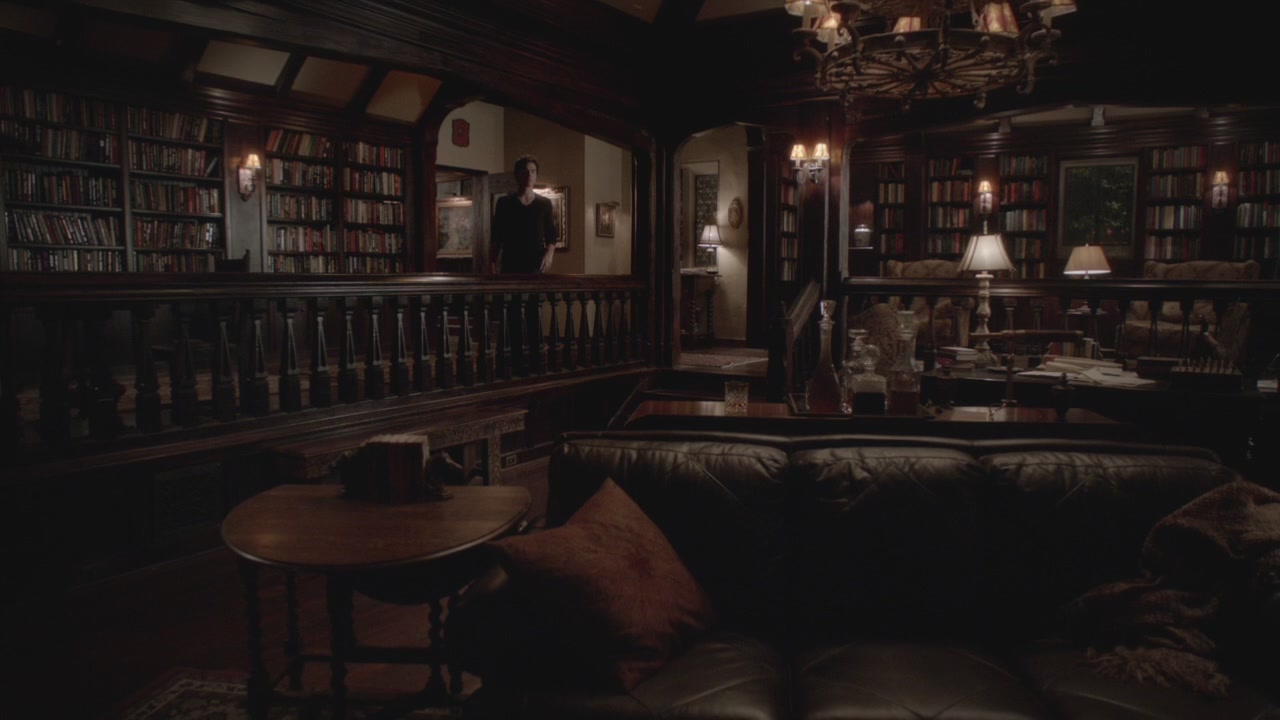 Vampire Diaries Living Room