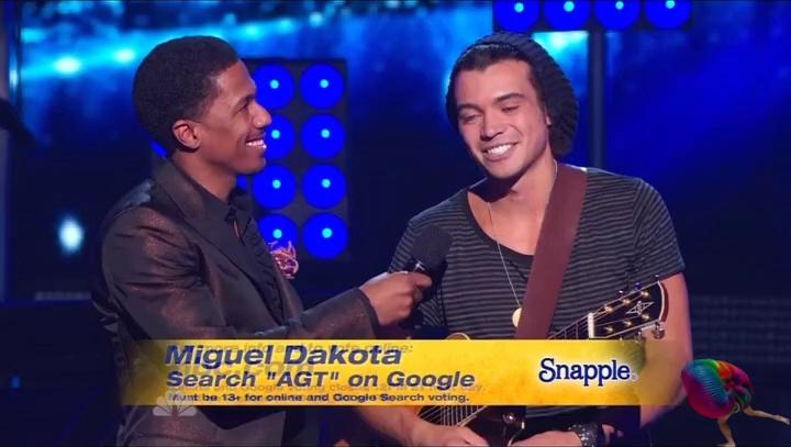 Excellent Miguel Dakota  America39s Got Talent Wiki
