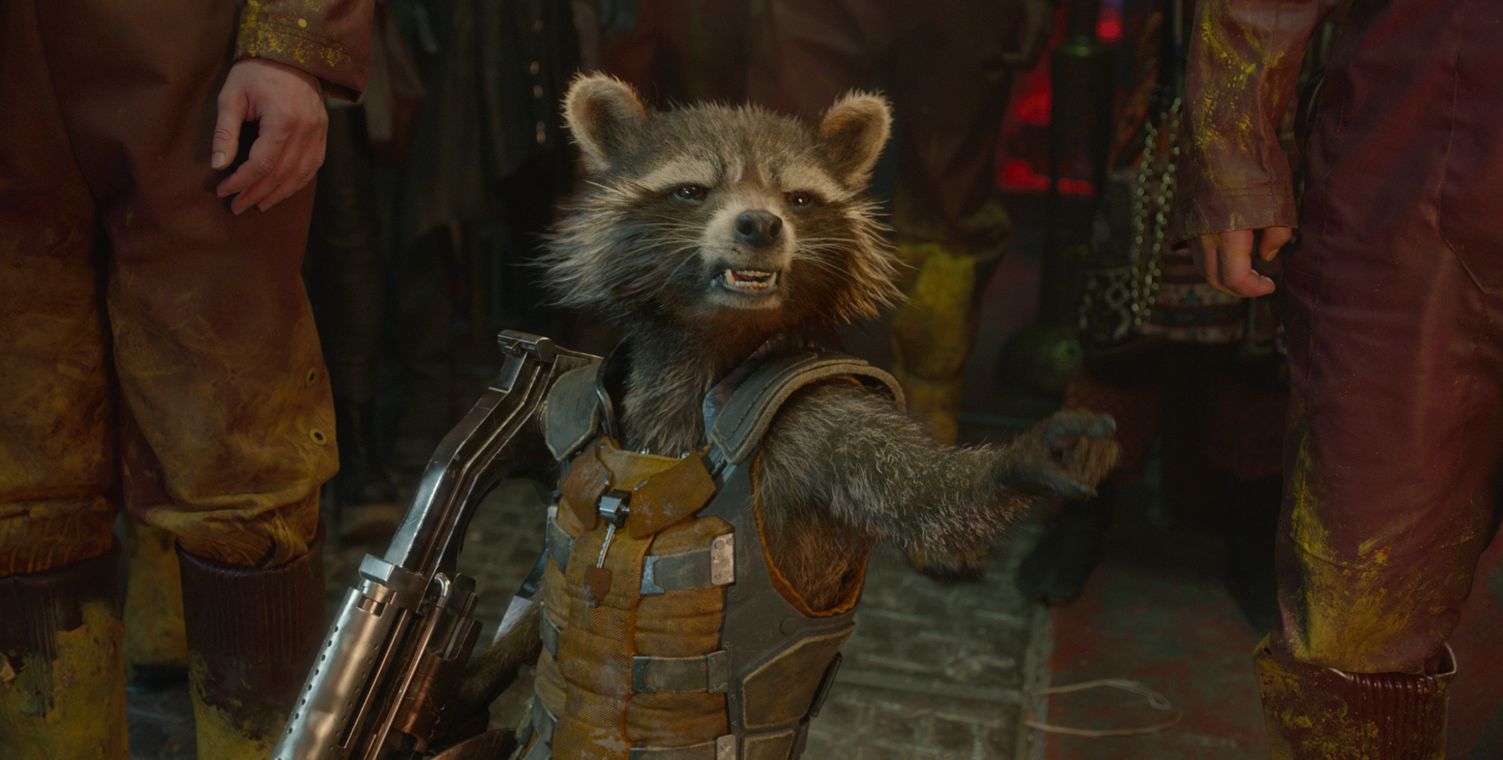 Rocket Raccoon Marvel Cinematic