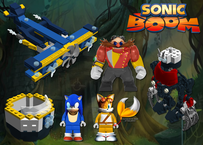 Sonic boom lego concept sonic news network the sonic wiki - Lego sonic boom ...