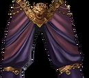 The Purple Lion's Trousers