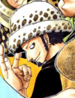 Law's Pre Timeskip Manga Color Scheme