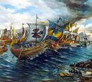 Batalla a las orillas de Villahermana