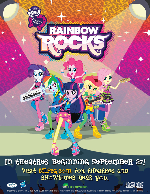 Local scene my little pony rainbow rocks calgary movies for 28 crowfoot terrace nw