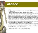 Afonee