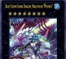 "Blue Storm Karma Dragon, Maelstrom ""Яeverse"""