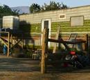 Ortega's trailer